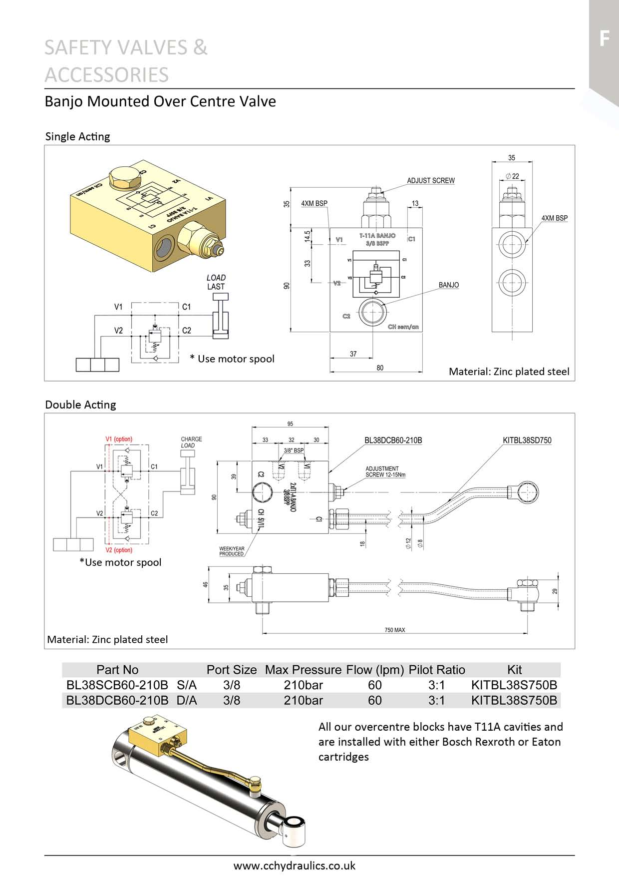 Banjo Mounted Over Centre Valves - C&C Hydraulics Ltd on valve flow diagram, valve solenoid, valve timing, valve guide, valve components diagram, valve adjustment, valve piston, valve actuator diagram, valve operation diagram, valve plug, valve cut sheet, valve packing diagram, valve assembly, valve compressor, valve radio, valve valve, valve schematic, valve regulator, valve system,
