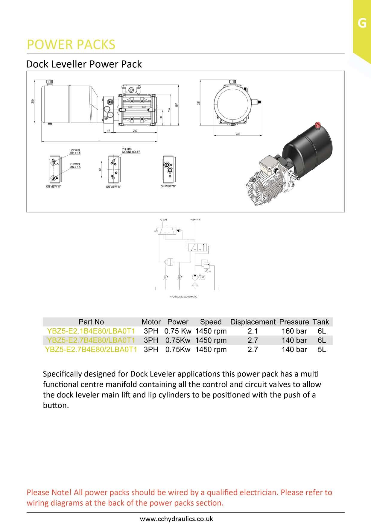 Dock Leveller Power Pack. Click ...