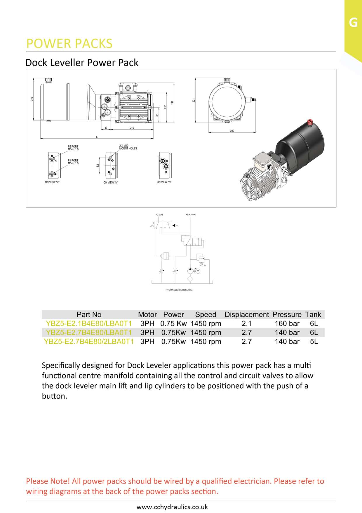 dock leveller power pack c c hydraulics ltd rh cchydraulics co uk dock leveler manual McGuire Dock Levelers